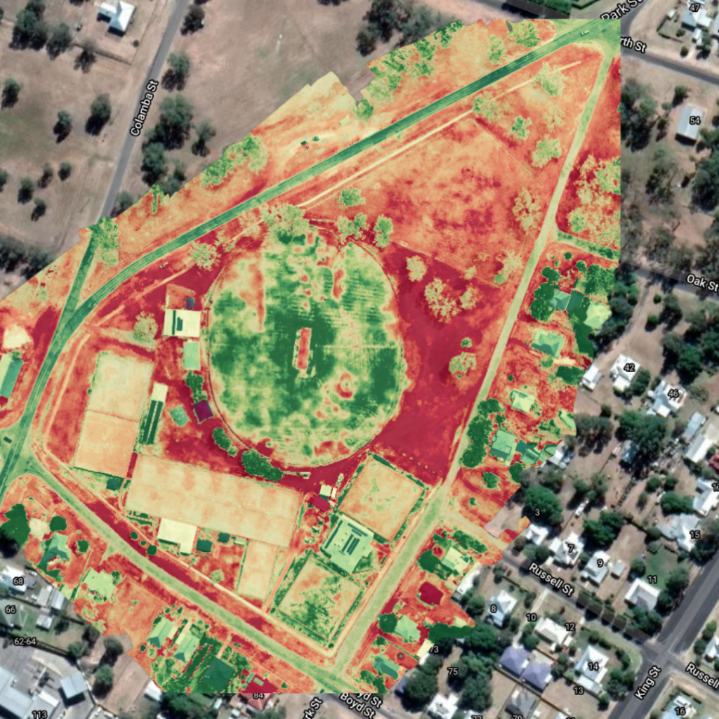 Drone mapping and surveying sample