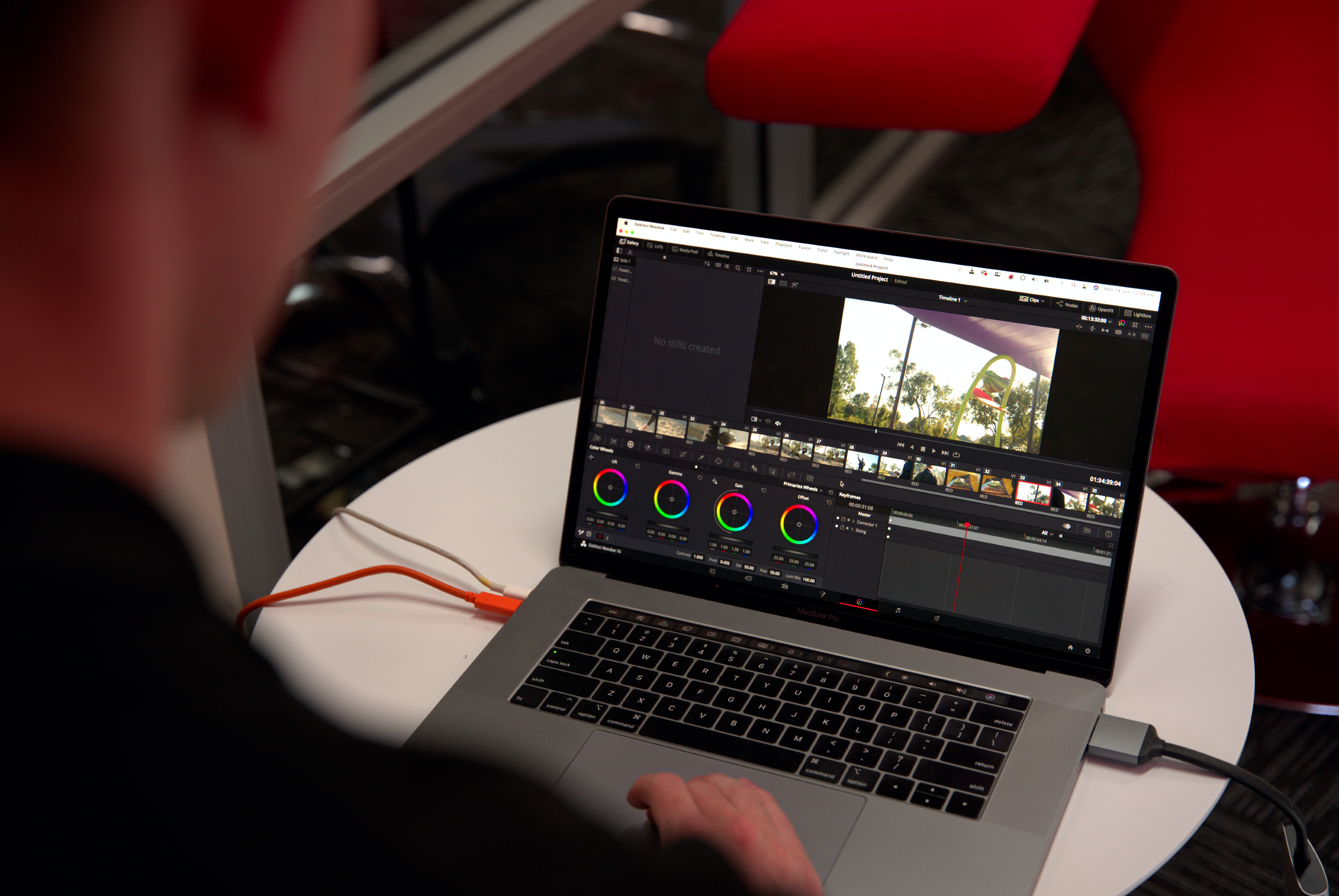 Post production and video editing